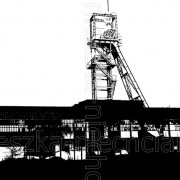 Mining shaft bw