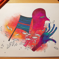 colorfull drawing