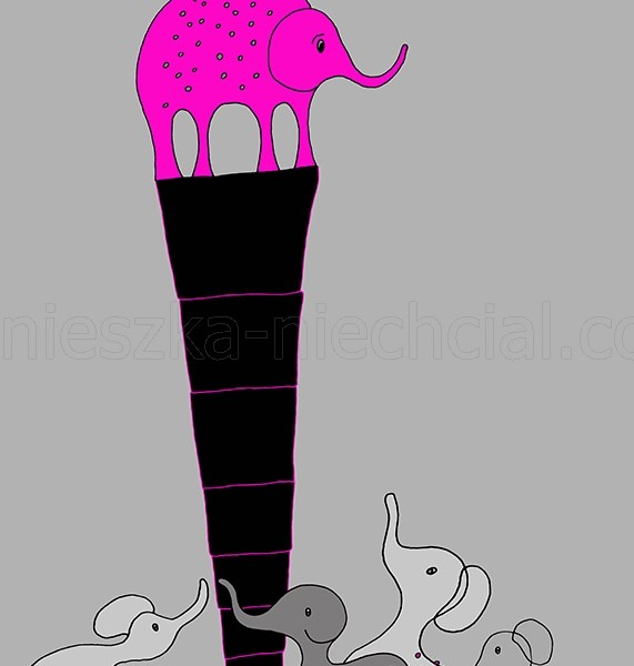 Fairytale illustration with animal theme