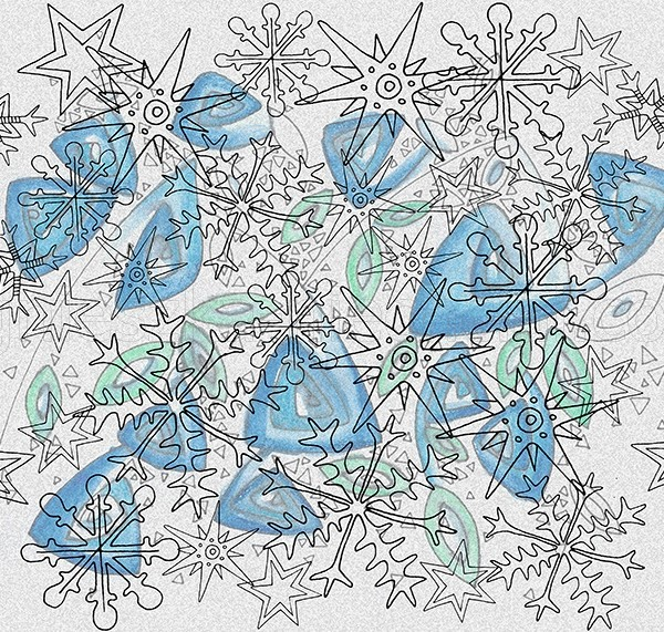 winter decorative pattern