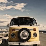 Volkswagen microbus vertical