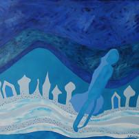 błękit w malarstwie