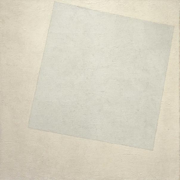 Biały kwadrat na białym tle - Kazimierz Malewicz