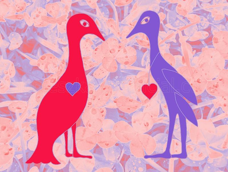 grafika dla zakochanych