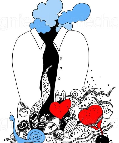 abstrakcja w ilustracji