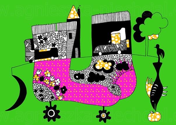ilustracja abstrakcyjna