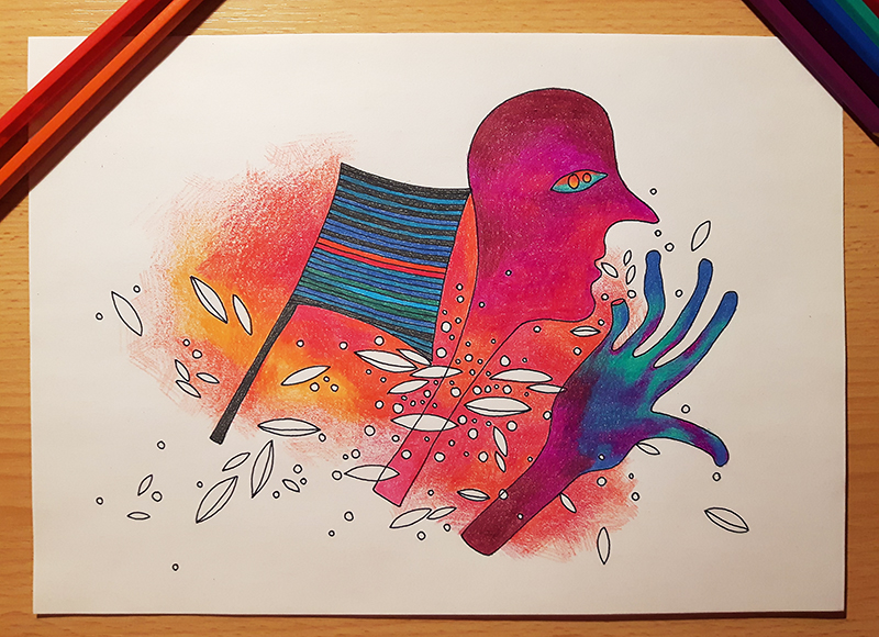 rysunek w pełnym kolorze