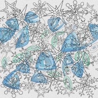 zimowa abstrakcja
