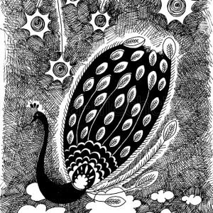 oryginalny rysunek